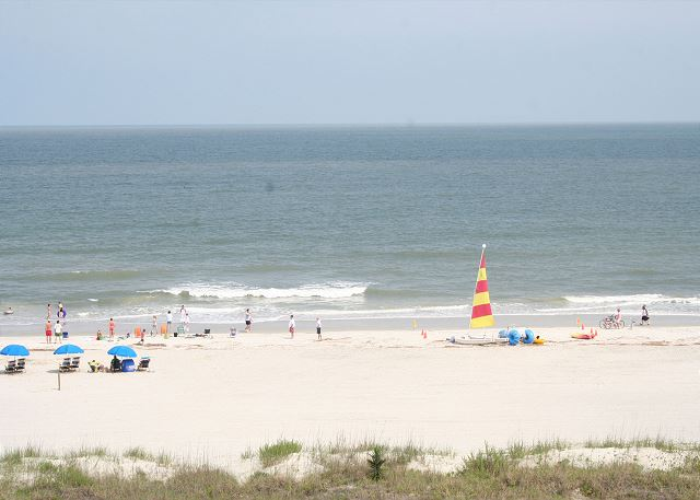 Walk easily to the Beach!