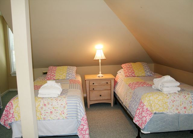 Twin Beds in Children's Loft