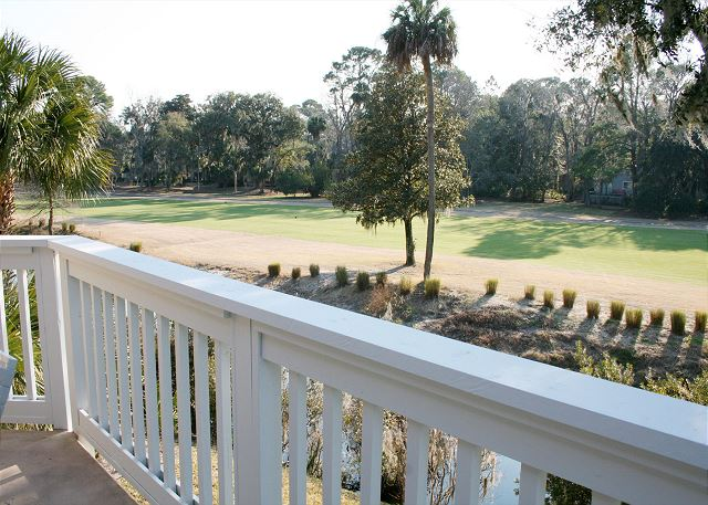 Colonnade Club 196 - View from Private Balcony - HiltonHeadRentals.com