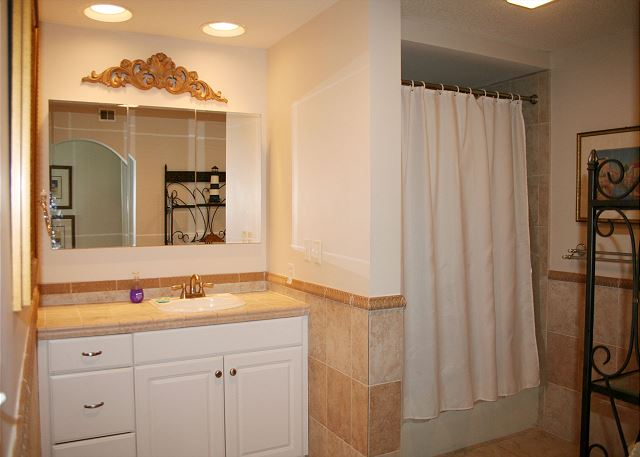Master Bath with Tub/Shower Combo