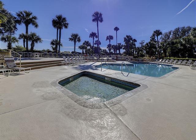 Oceanfront Pool & Spa