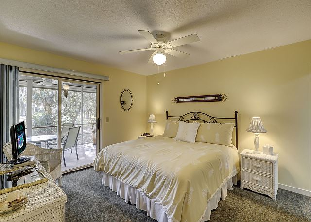 Master Bedroom with King bed & Private Bath