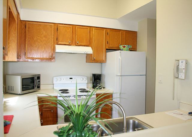 Fully Equipped Kitchen & Laundry