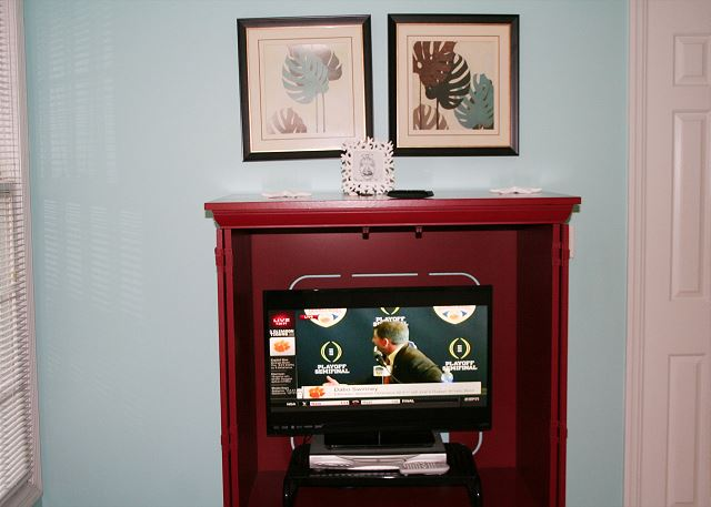 Bedroom 2 Flat Screen TV