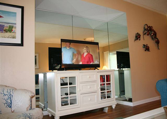 Living Room Flat Screen TV