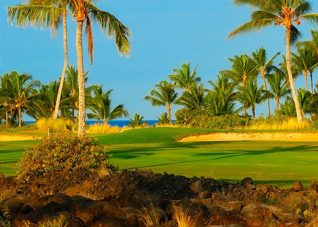 Privat 13th fairway - Beach golf course.