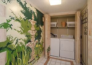 Washer & Dryer inside unit for guests convenience