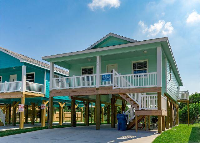 Port aransas tx united states the beach hive el412 for Coastal home builders texas