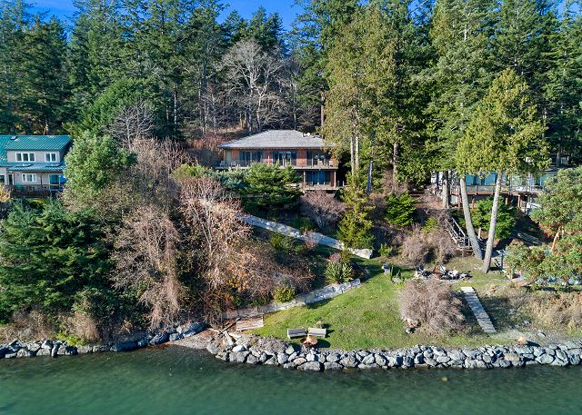 Enjoy this waterfront property located on Westcott Bay.
