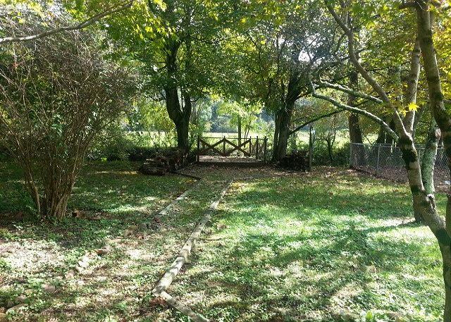Walkway to Walden's Creek