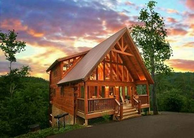 cabins rent and gatlinburg mountain mountains forge tn pigeon smokey smoky for pin in
