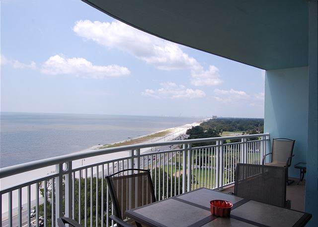 Balcony View to the West