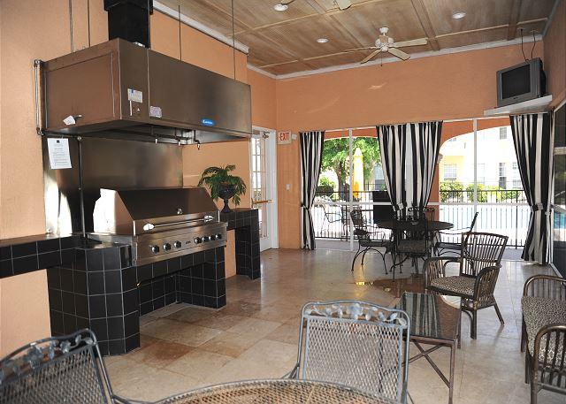 Villas Grill room