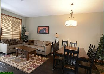 Big White Townhouse rental - Interior Photo - LIVING AND DINING AREAS