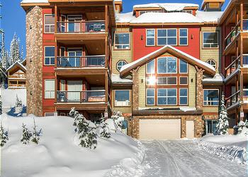 Big White Condominium rental - Exterior Photo - Snowbird Lodge 406