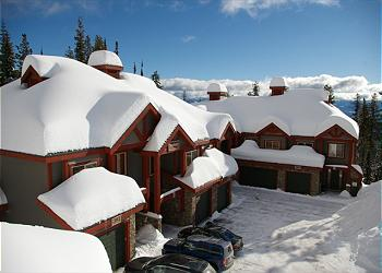Big White Townhouse rental - Exterior Photo - Snowbanks Townhomes, Big White, BC