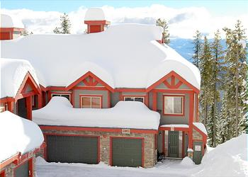 Big White Townhouse rental - Exterior Photo - Snowbanks 6, Big White, BC