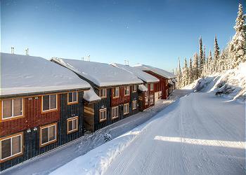 Big White Condominium rental - Interior Photo - Ski Run behind Timber Ridge