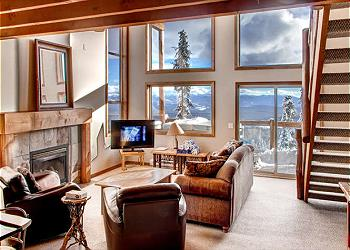 Big White Fourplex rental - Exterior Photo - Arolla D Living Room