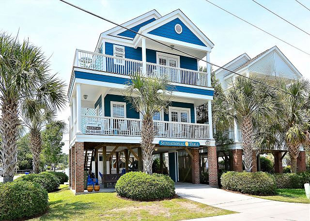Have a Sunsational Time in Surfside Beach!! 6 Master bedrooms/ 6.5 bathrooms and sleeps 16 people!