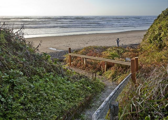 Your beach access only 80 yards from the house