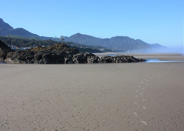 2 miles of quiet, uncrowded beach