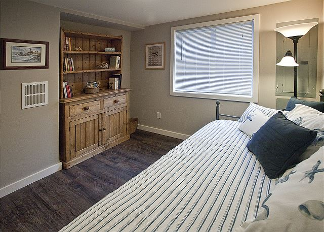 Twin trundle bed - accommodate two in this sweet room