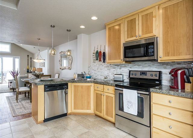 Beautiful all new well-equipped kitchen