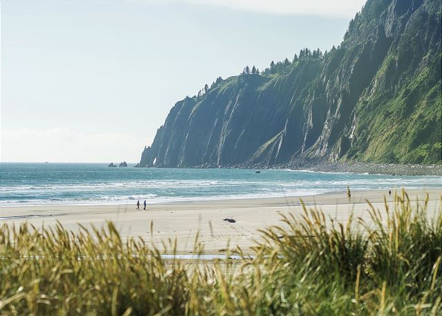 North end of Manzanita beach - 7 miles of soft sand between your toes.