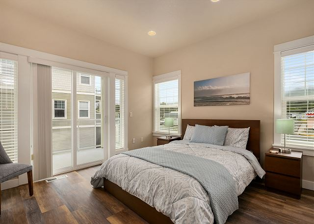 Master Bedroom with ensuite bathroom and balcony