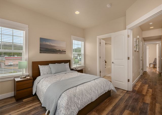 Master Bedroom located on Middle Floor