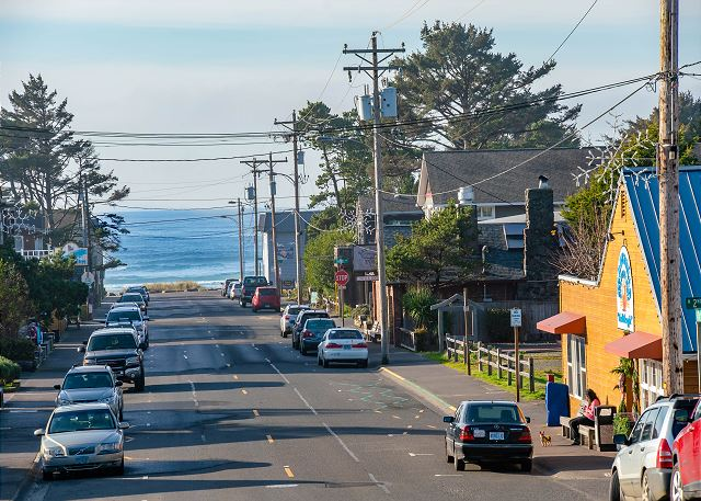 Carmel by the Sea is located on Laneda, Manzanita's quaint main street.