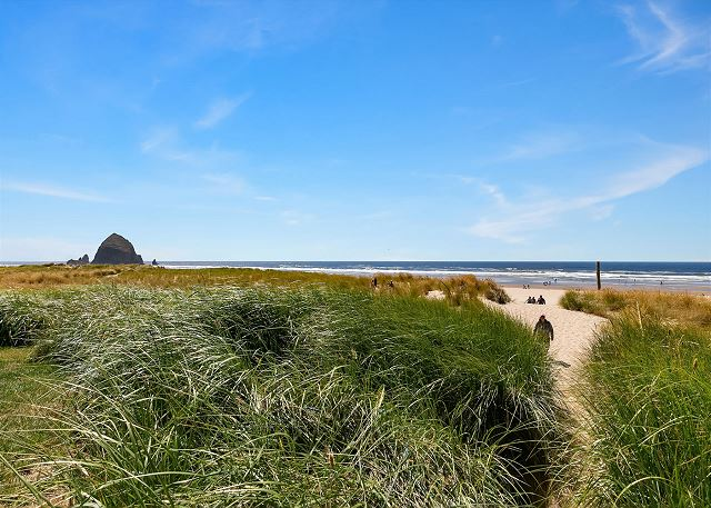 Your beach access is just 2 blocks from the house