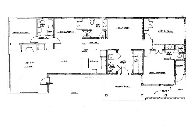 The Sea Glass floor plan