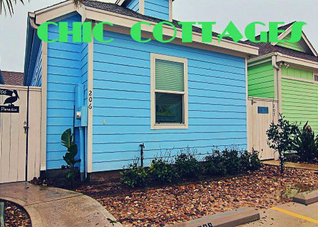 Pirate's Bay Resort offers the a little beach community experience. This coastal cottage offers spacious rooms with an open fluid feel. The three bedroom cottage offers Satellite Cable and a DVD player for movie night. Its family friendly and very private, requiring guests to wear wristbands to keep out those that are not checked in as guest for security and peace of mind.