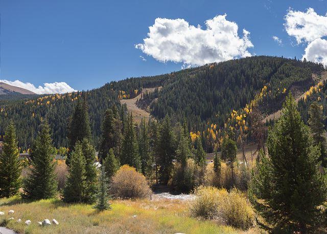 Ski Slope Views from Hidden River Lodge