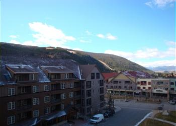 Keystone Condominium rental - Exterior Photo - Summer view from the balcony of the ski slope