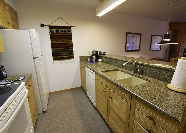 The Kitchen features granite countertops.