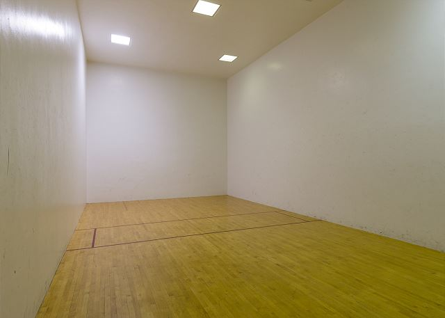 Shared Racquetball Court
