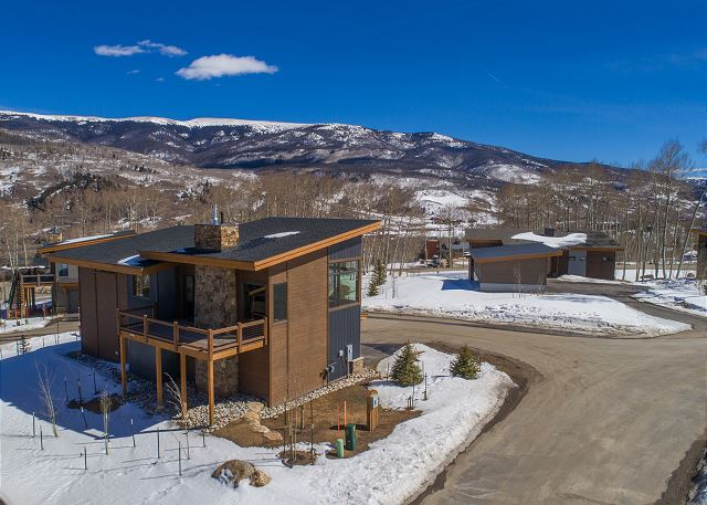 A modern stand-alone home in beautiful Silverthorne, Colorado.