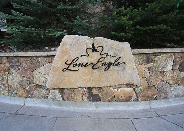 Lone Eagle in Keystone