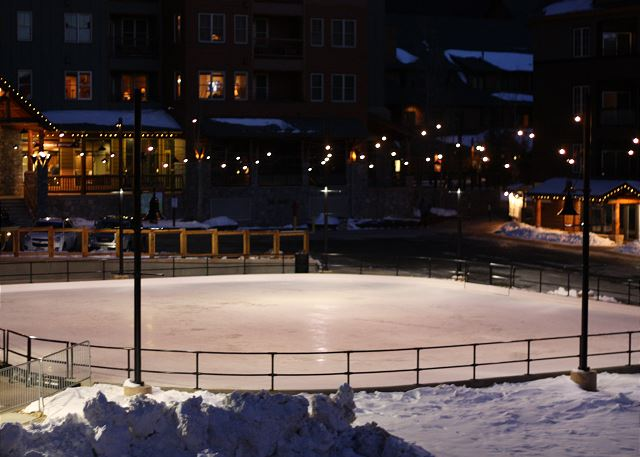 Dercum Square Ice Rink in River Run Village (converts to a miniature golf course during the summer)
