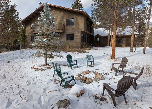 Guests can easily experience the great outdoors just steps from the home and enjoy the fresh mountain air.