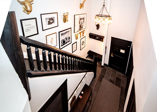 Entryway from loft