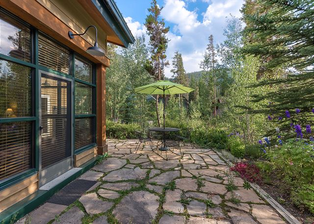 Wraparound Private Patio with Beautiful Views