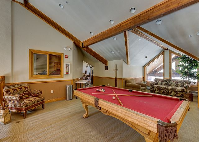 Common area pool table