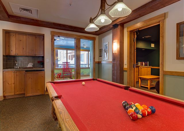 Shared Pool Table