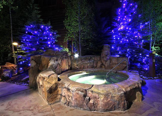 Shared Outdoor Hot Tubs