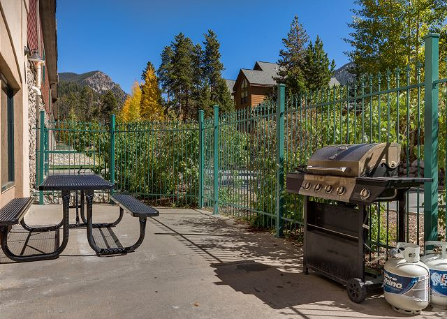 Shared Outdoor Grill Area