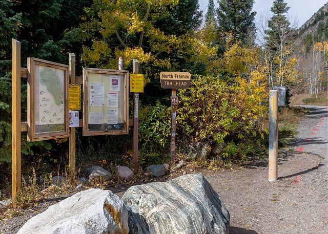 North Tenmile Trailhead